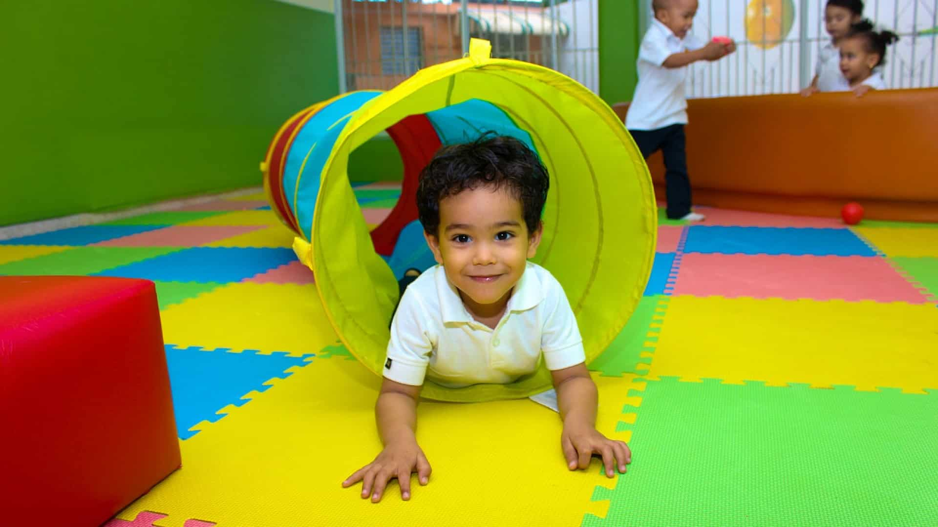 Les dalles en pvc pour les lieux dédiés à la petite enfance